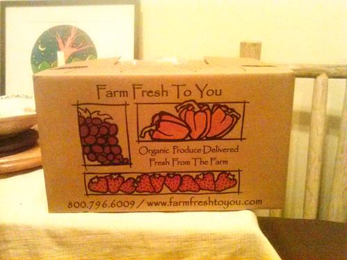 First CSA Box!