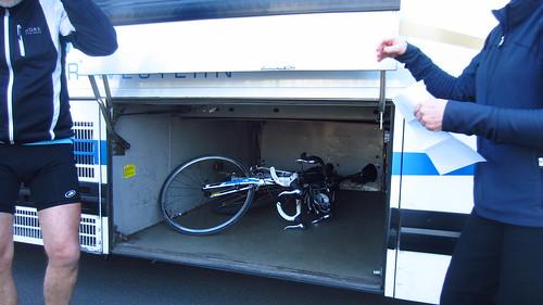 Bus/bike integration