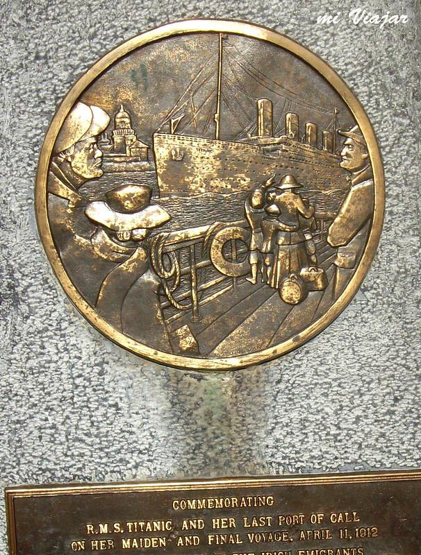 Titanic, placa conmemorativa