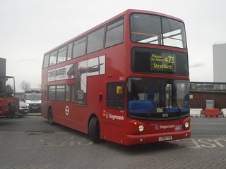 Stagecoach 18252 on Route 473, North Woolwich