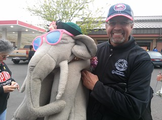 Ms Ella meets Kyle Petty