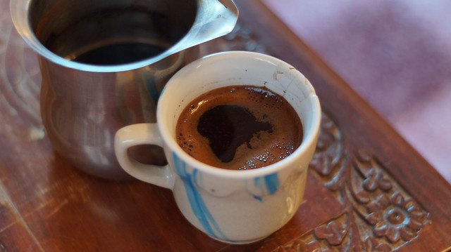Morning Turkish coffee