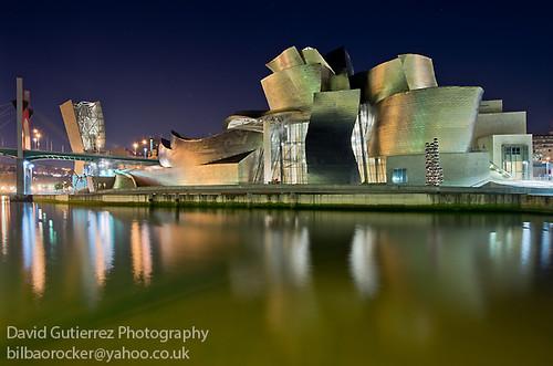 Bilbao Guggenheim at Dawn by david gutierrez [ www.davidgutierrez.co.uk ]
