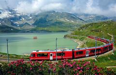 Cestování Švýcarskem– Bernina Express