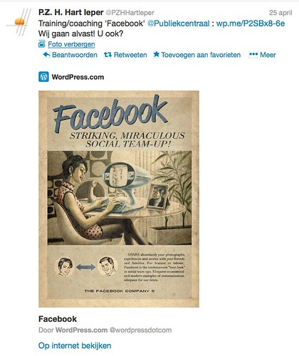 WOM deelnemer training Facebook