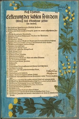 024-Texto decorado-Descripción del bautismo de la dama Isabel de Hesse-1598-Biblioteca Estatal de Baviera