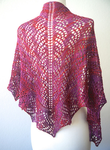Breathless One Skein Shawl