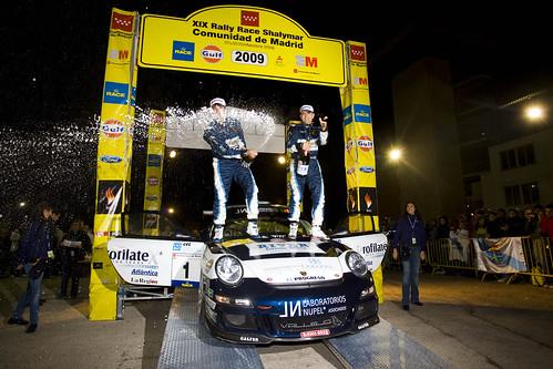 Vallejo ganadores Rallye Shalymar 2009