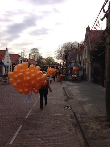 Heliumballonnen Koninginnedag Piershil