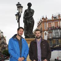 Manuel Alejandro González y Antonio Jiménez, fundadores de la OST