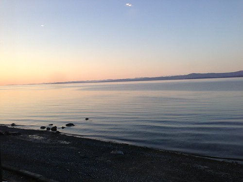 Sunset in Qualicum