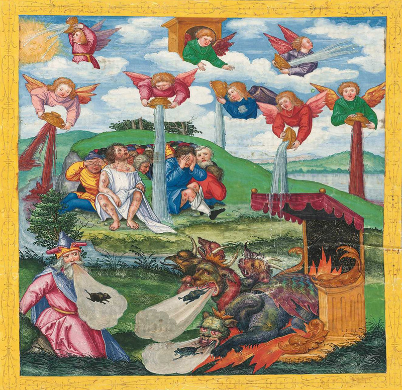 Ottheinrich Bible Painting - 3 (15th-16th century, Bavaria)