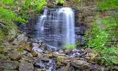 Dolan Branch Falls Bays Mountain