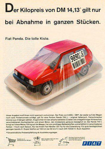 Fiat Panda Commercial by fabi500l