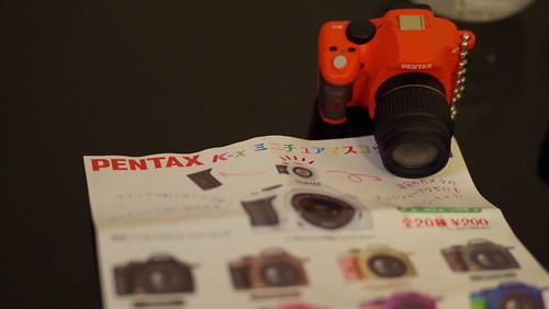 K-x相機扭蛋也來開一下箱