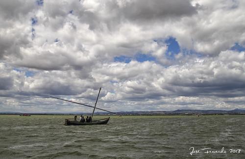 Una de nubes y barquitos by José Ferrando