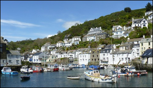 The Harbour, Polperro, Cornwall