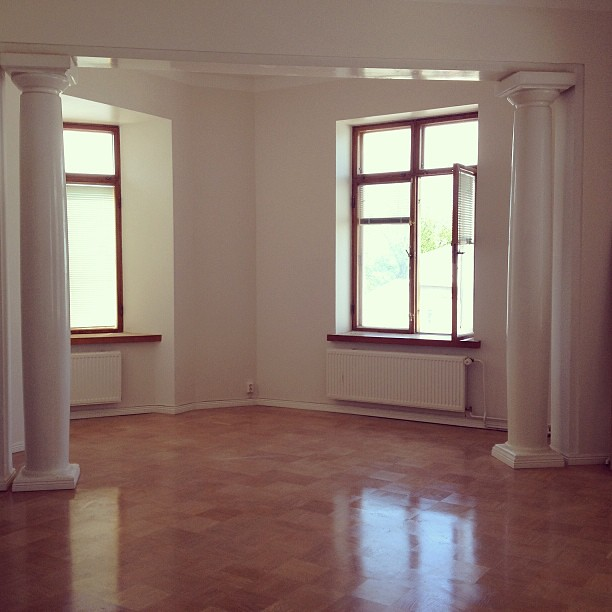 Sneak peek of our new apartment  #moving #crib #apartment #ekenäs #instadaily