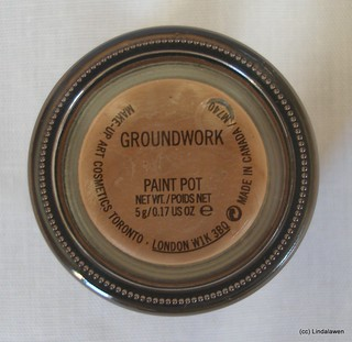 Paint pot MAC: Groundwork