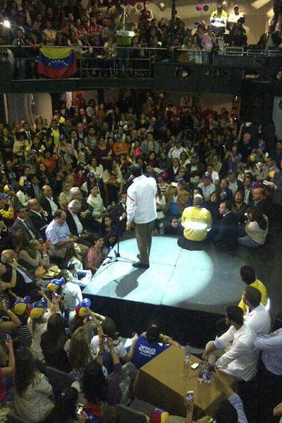 Capriles en Colombia