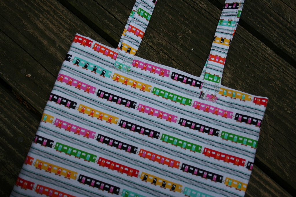 {reversible} Summer Tote Tutorial