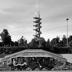 BMX am Weißtannenturm