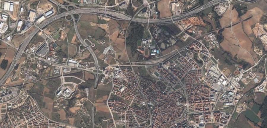san cugat, sant cugat, barcelona, cataluña, catalunya, ciudad, antes, desastre, urbanístico, planeamiento, urbano, construcción, urbanismo