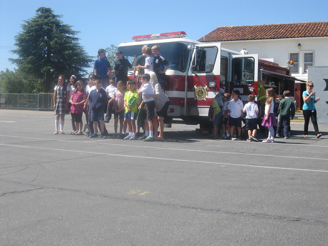 Fire Engine Show 'n Tell