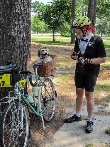 19/52-2 cycling dog