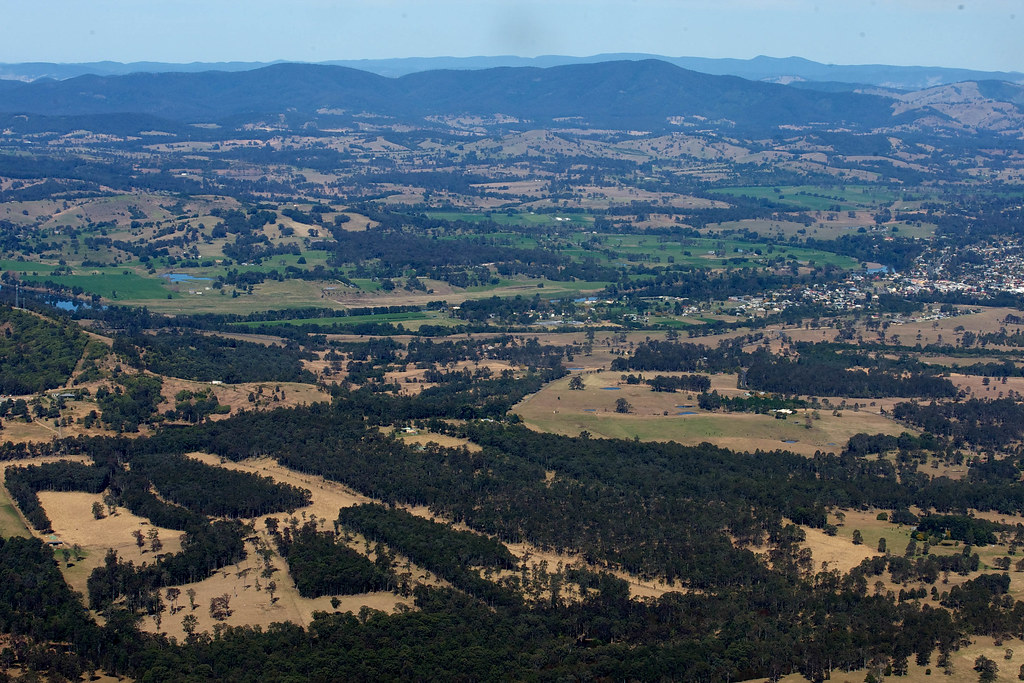 Flight over Taree