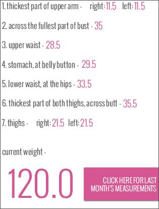 october 2013 measurements