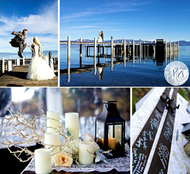 2 Classic Fall Lake Tahoe Wedding