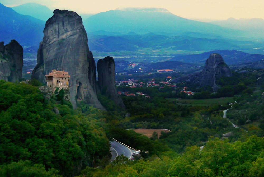 Monasteries in Mountains