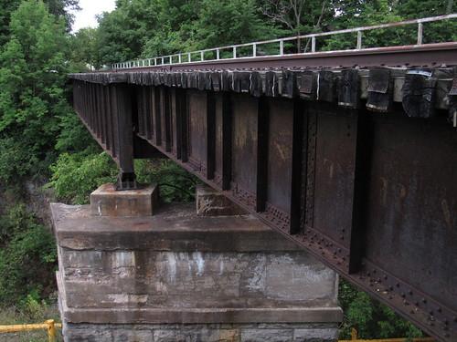new york central rr railroad lowville ny bridge mill creek rome watertown ogdensburg