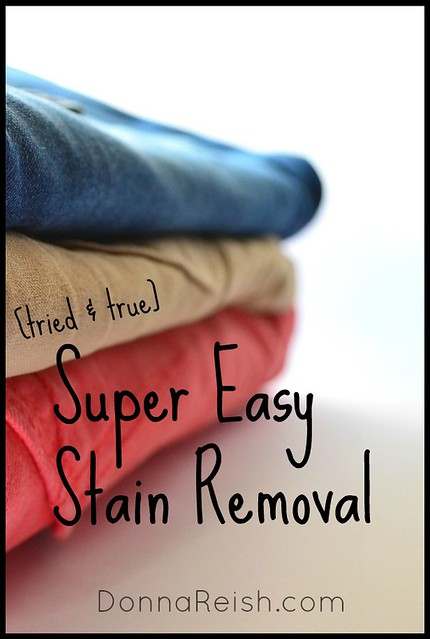 Super Easy Stain Removal
