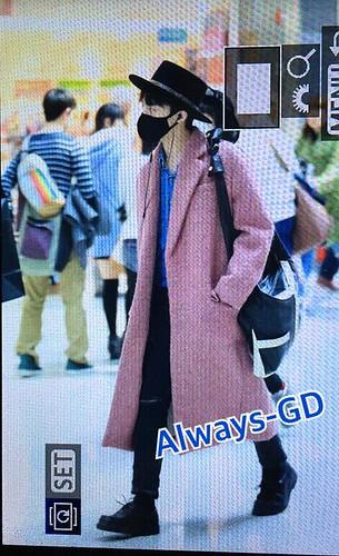 Big Bang - Incheon Airport - 21mar2015 - G-Dragon - Always GD - 01