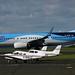 G-FDZW , G-BMUZ & G-BRJV NEWCASTLE AIRPORT