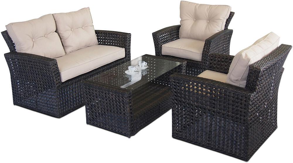 Marvelous Open Weave Rattan Garden Sofa Set Modeliving Co Uk Open We Andrewgaddart Wooden Chair Designs For Living Room Andrewgaddartcom