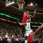 LeBron James Dunks On Jason Terry