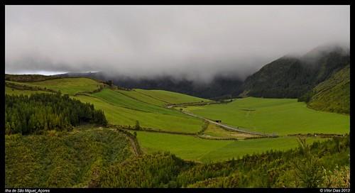 verde cores nikon paisagem nuvem cor açores setecidades bruma tempestade d90 sãomiguel logoa iiha