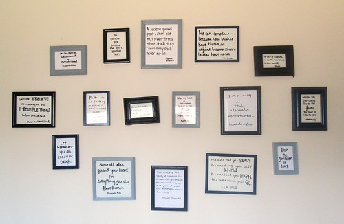 Quote Wall by SevenDaysBlog