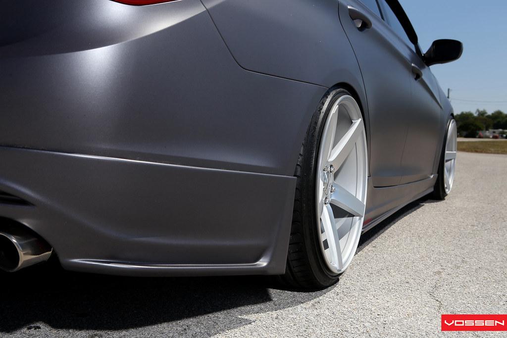 Hyundai Sonata On Vossen Vvs Cv3 S Kdm Quot Stanced Quot