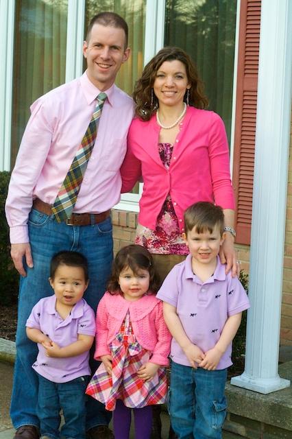 Gates Family, Easter 2013
