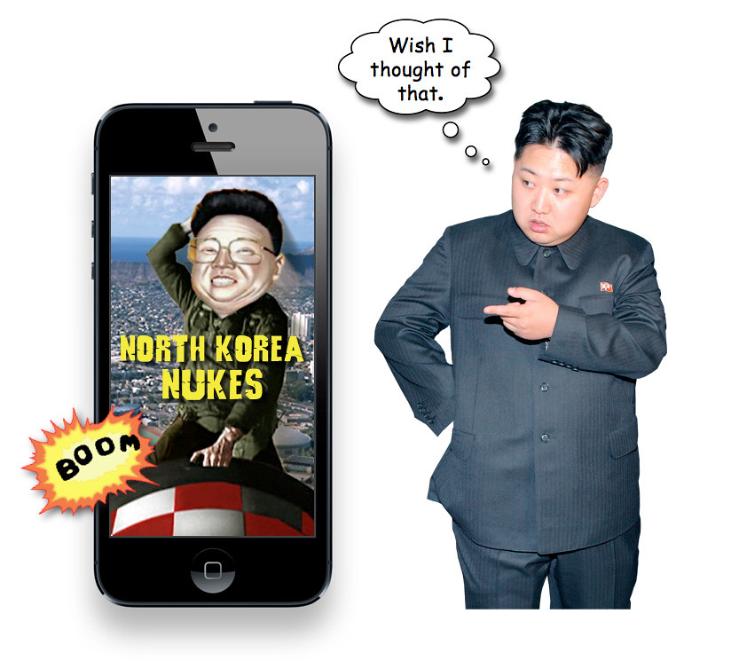 """North Korea Nukes"" iPhone App"