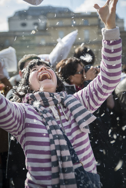World Pillow Fight Day 2013 - London