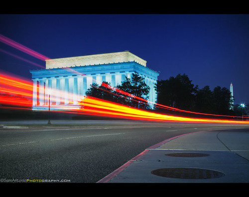 Back to the Future with Lincoln and Washington by Sam Antonio Photography