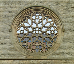 Remains of the Rose Window, Congregational Church
