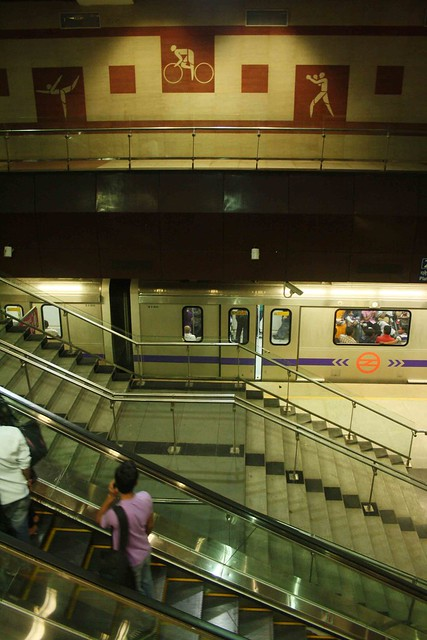 Delhi Metro - JLN Stadium Station, Near Lodhi Road