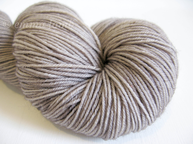 Merino Superwash 4ply in Greige, by Old Maiden Aunt | Emma Lamb