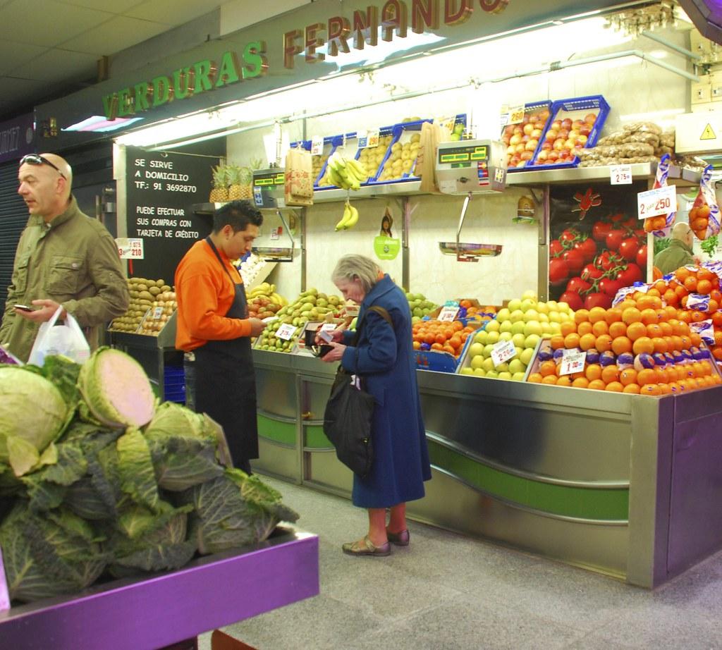 Madrid Fruit Vendor